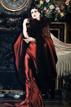 John Galliano, for Christian Dior - 1998 - Tribute to Marchesa Luisa Casati