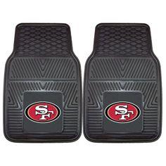 FANMATS NFL San Francisco 49ers Vinyl Heavy Duty Vinyl Car Mat Fanmats