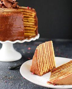 Hungarian Dobos Torta (cake)