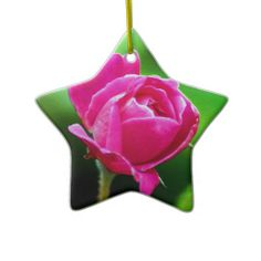 Rosy Pink Christmas Tree Ornaments
