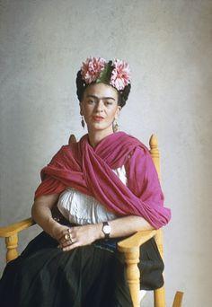 Fashion codes of Frida Kahlo - AnOther Magazine Frida, San Angel Nickolas Muray, 1941