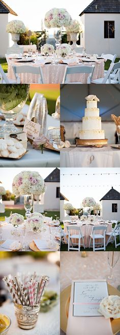 Soft White Texas Wedding with Elegance Receptions Featured and