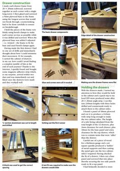 #405 Tool Storage System Plans - Workshop Solutions