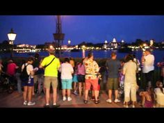 Epcot IllumiNations: Is It Worth Your FastPass+? ~~ Shown:  Epcot - IllumiNations FP+ Viewing Area