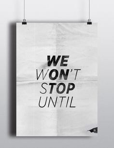 """We won't stop until we on top"" by Lucas..."