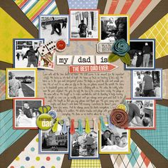 From Sweet Shoppe Designs...Credits: Best Dad Ever by Shawna Clingerman, Traci Reed and Erica Zane Photogram 2x2 by Nettio Designs