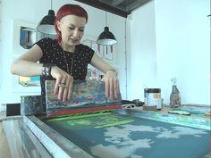 Justyna Medon Screenprinting / on Design Work Life
