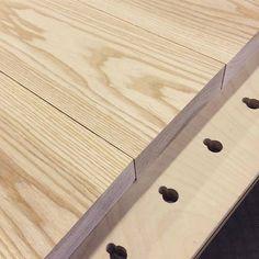 Kaunista saarnilankkua valmiina tuhottavaksi. #puuseppä #puuala #osao #opiskelu #woodworking #woodwork #joinery #carpenter #design #studing #ash http://ift.tt/2fZFpeB
