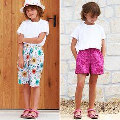 Jak ušít půlkolovou sukni (video návod + tipy pro konstrukci) – Prošikulky.cz Kids Shorts, Pdf Sewing Patterns, Bermuda Shorts, Peplum, Summer Dresses, Skirts, Short Shorts, Hawaii, Website