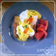 """Eggs Benedict alla """"Oslo"""" @ L'Ov Milano"""