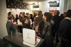 A colorfull and amazing event to launch #Marie @Elica Showroom
