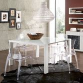 Found it at AllModern - Fashion Dining Table with Crystal Chairs
