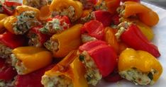 Within the last two weeks I've seen Giada make stuffed baby peppers - twice, bookmarked the recipe on my home AND work computers, and...