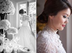 An Exquisite Black and White Styled Wedding Shoot at Da Paolo Bistro Bar