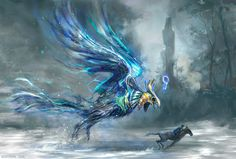 Egyptian Terror Bird, mozchops . on ArtStation at https://www.artstation.com/artwork/mzbNy