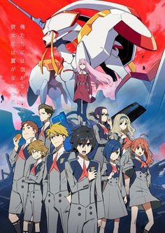 Darling in the FranXX #GG #anime