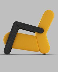 BASE easychair by Redo Design Studio