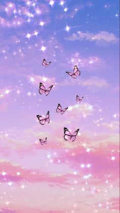 Iphone Wallpaper Tumblr Aesthetic, Aesthetic Pastel Wallpaper, Aesthetic Backgrounds, Aesthetic Wallpapers, Butterfly Wallpaper Iphone, Iphone Background Wallpaper, Iphone Backgrounds, Photo Wall Collage, Picture Wall