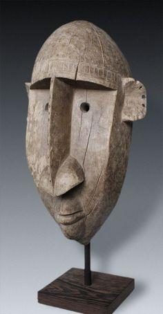 Gran Máscara de la Ntomo-Sociedad, Bamana-pueblos, Mali