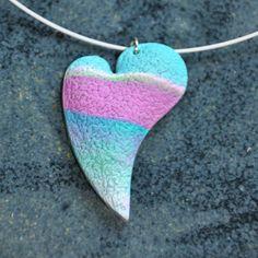 barevné srdce
