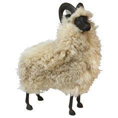 Bronze & Wool Sheep | From a unique collection of antique and modern animal sculptures at http://www.1stdibs.com/furniture/more-furniture-collectibles/animal-sculptures/$7,500!