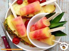 Malibu Rum Ohlala! Even afkoelen met deze heerlijke Malibu ijsjes! Voor wie maak jij ze?  Recept: - 100 ml Malibu Rum - 360 ml ananas (ong. de helft van een grote ananas) - 90 ml frambozen (ong. 13 frambozen) - 50 ml granaantappel likeur  Instructies  1. Doe de ananas en de Malibu in een blender en mix alles tot het volledig gepureerd is. Zet deze mix aan de kant.  2. Doe de frambozen en de likeur in een blender en mix alles tot het volledig gepureerd is.  3. Giet de helft van de ijsvormpjes…