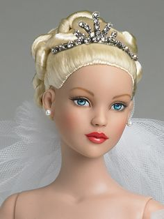 Cinderella Bride from the Tonner Doll Company's 2007 collection. #Cinderella #BrideDolls #TonnerDolls