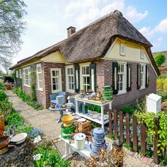Giethoorn is the most amazing village I have ever seen. Canals go through the entire village making it a little Venice of the Netherlands. You park your car at the boat dock and then you walk or rent a boat to see the entire place. Giethoorn is a magical place, most houses have thatch roofs, beau...
