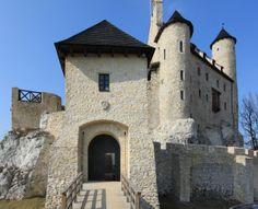 Zamek w Bobolicach (Polska). Straszy w nim hrabianka z Bobolic.