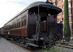 Museo del Ferrocarril de Madrid. Tren de la Fresa. Locomotora de vapor
