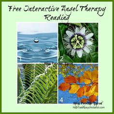 Free Interactive Angel Therapy Reading Atell Psychic Tarot