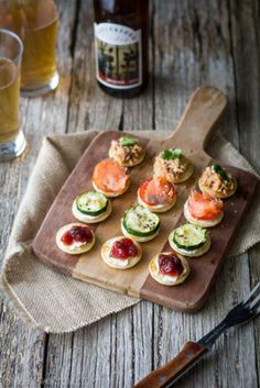 Food: Eleven Snacky Things To Serve Your Pals  (via Mini Pancake Bites | Prudent Baby)
