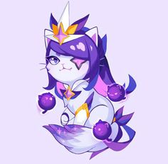 Star Guardian New Horizon Syndra Cat