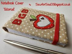 Tutorial: Fabric notebook cover