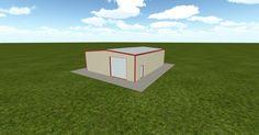 3D #architecture via @themuellerinc http://ift.tt/2e6jFLl #barn #workshop #greenhouse #garage #DIY
