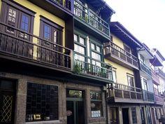 Guimaraes. Casas típicas