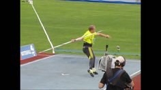 This really helped me to get the technique of throwing a javelin. javelin throw,lateral and back ,slow motion Tennis Workout, Track Workout, Javelin Throw, Heptathlon, Shot Put, Tennis Shirts, Play Tennis, Club Outfits, Track And Field