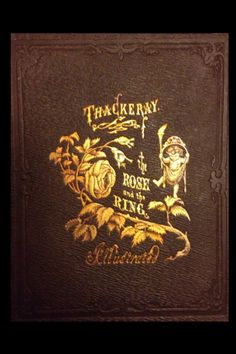 The Rose and the Ring William Makepeace Thackeray Harper and Bros. 1855