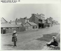Princes Street, The Rocks by State Records NSW