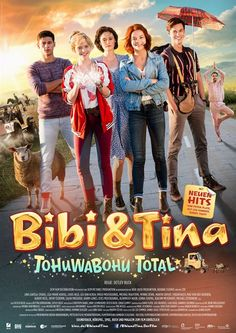 Bibi & Tina 4 - Tohuwabohu Total : Kinoposter