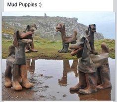Garbadge Art-Boots...