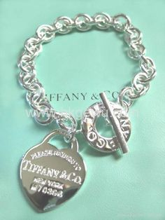 Tiffany and Co. bracelet...hinting to Steve for our 25th...