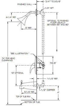 Bathroom Layout Diagram plumbing diagram: plumbing diagram bathrooms | shower remodel