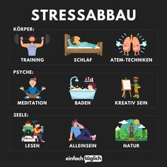 9 Wege um Stress abzubauen What is your favorite thing to do to relieve stress?