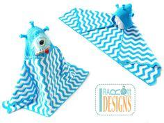 Plutonian Paul Hooded Beach Towel or Hooded Blanket PDF Crochet Pattern by IraRott Inc.
