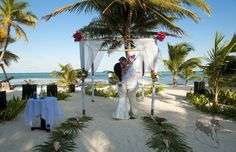 """I Do"" - From Michelle & Michael's Wedding at #lasterrazas #belize #destinationwedding"