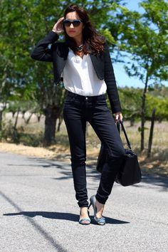 BLACK & BLUE Street Style