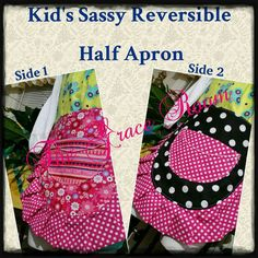Introducing New Product and Product Line in The Grace Room! Check out this item in my Etsy shop https://www.etsy.com/listing/249966359/lil-grace-kids-sassy-reversible-half