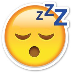 Sleeping Face | EmojiStickers.com
