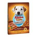 Kibbles Kibble n Bits Homestyle Dog Food Grilled Beef Steak  Vegetable 16 LB Pack of 12 * You can get additional details at the image link. (Note:Amazon affiliate link)